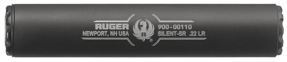 closeup image of a ruger suppressor